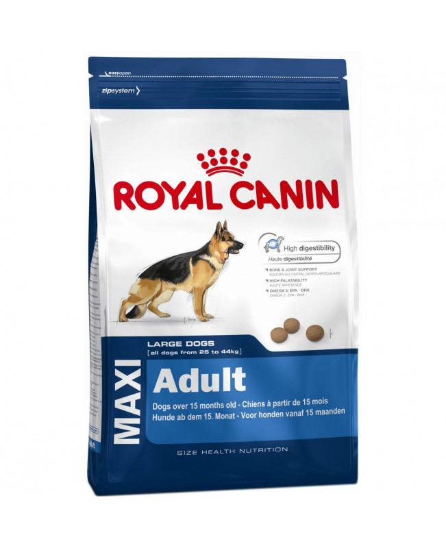 Суха Храна за кучета- Royal Canin Maxi Adult 15кг.