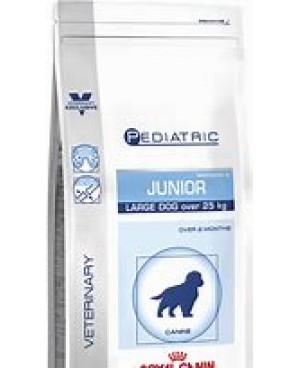 Суха храна за кучета - Royal Canin VCN - Pediatric Junior Large Dog - за големи породи кученца (тегло 25 до 45 кг)  до 15-месечна възраст или след кастрация приблизително 6 месеца 14 кг - Кучета