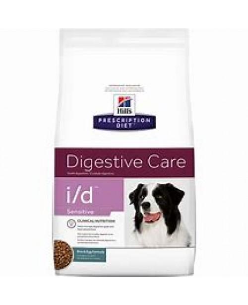 Суха храна за кучета - HILL'S Canine i/d Sensitive 12кг.-за кучета, страдащи от стомашно-чревни разстройства