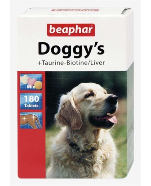 Витамини за куче Beaphar Doggys Biotine Taurine Liver - Кучета