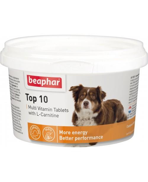 Витамини за куче - Beaphar Top 10 , 750бр.
