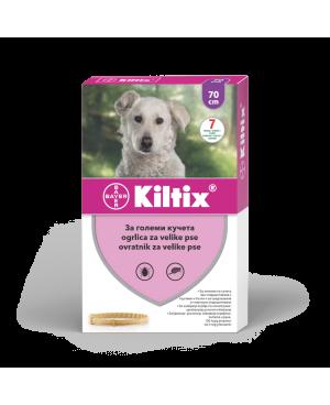 Kiltix - противопаразитна каишка 70 см.  - Кучета
