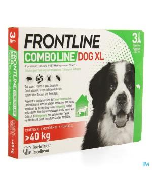 Препарат Спот Он за  външно обезпаразитяване при кучета -Frontline combo  40-60 кг.,  1 пипета - Кучета