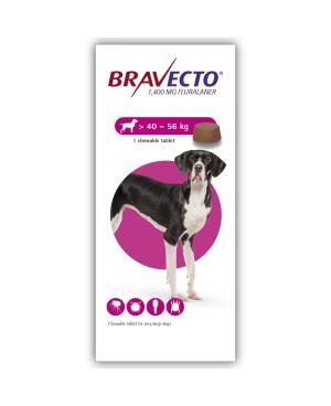 Bravecto -хапче за външно обезпаразитяване 40-56кг.