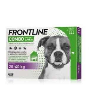 Препарат Спот Он за  външно обезпаразитяване при кучета -Frontline combo  20-40 кг.,  1 пипета - Кучета