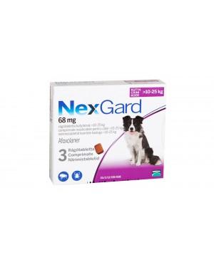 Препарат таблетка  за  външно обезпаразитяване при кучета -Nexgard 10-25кг., 1 таблетка - Кучета