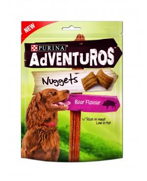 Лакомство за куче  AdVENTuROS Nuggets с глиганско 90гр.