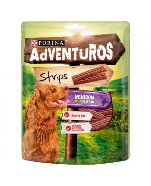 Лакомство за куче  AdVENTuROS Strips с еленско 90гр.