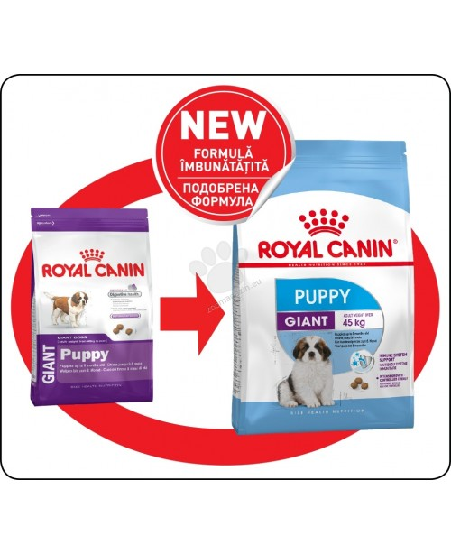 Royal Canin Giant Puppy - Кучета