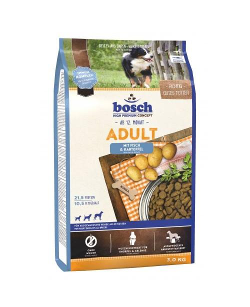 Суха храна за кучета  Bosch Adult риба и картофи