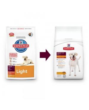 Суха храна за кучета Hill's Canine Adult Large Breed Light пилешко 14кг.