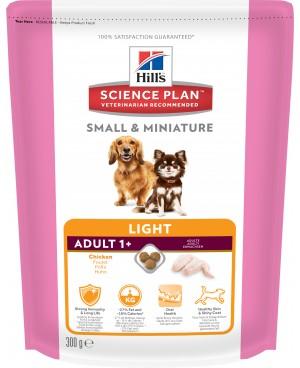 Суха храна за кучета  HILL'S Canine Adult Small & Miniature Light  - Кучета