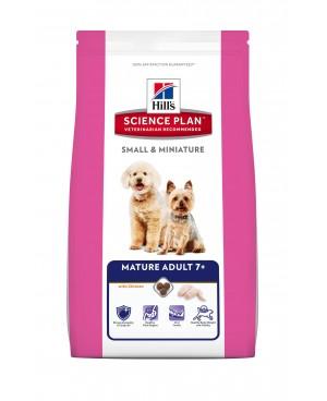 Суха храна за кучета Hill's Science Plan Canin Small & Miniature Mature Adult 7+ с пилешко - Кучета