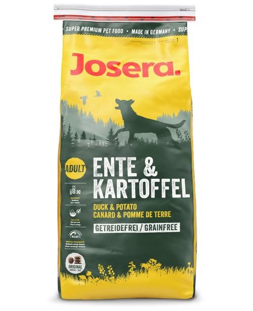 Суха храна за кучета  Josera патешко и картофи, без зърно - Кучета