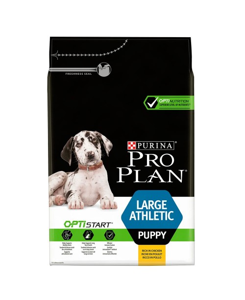 Суха храна за кучета Pro Plan Large Athletic Puppy OPTISTART - Кучета