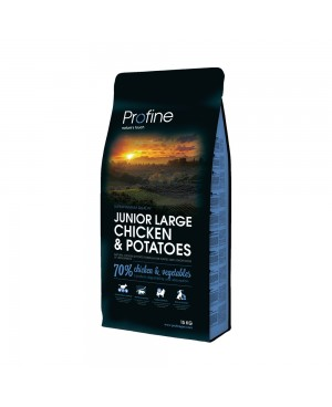 Суха храна за кучета Profine  Junior Large Chicken & Potatoes - Кучета