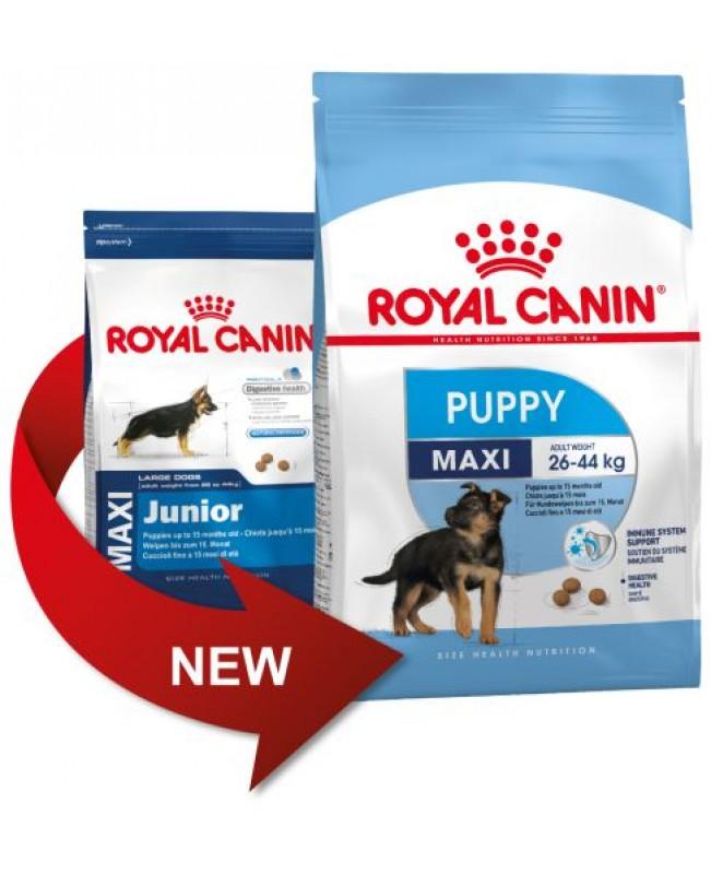 Суха храна за кучета Royal Canin Maxi Puppy / Junior - Кучета