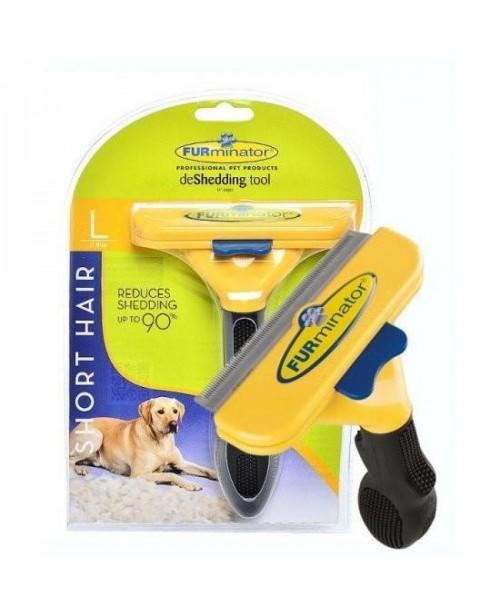 Тример за куче FURminator за къса козина L размер - Кучета