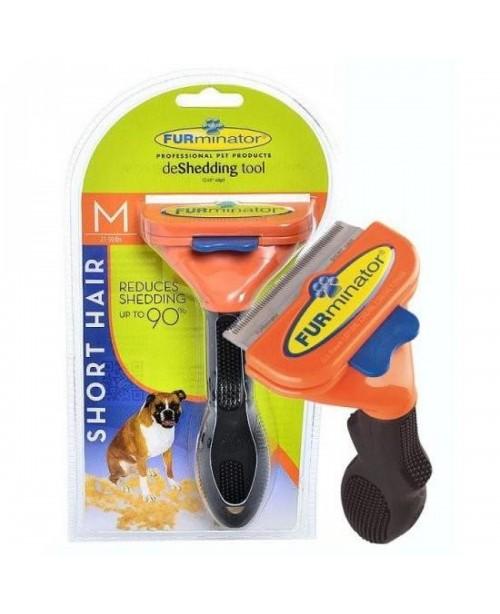 Тример за куче FURminator за къса козина M