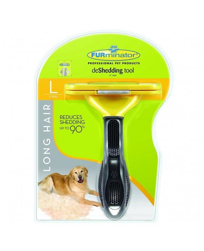 Тример за кучета FURminator за дълга козина L - Кучета