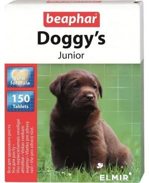Витамини за куче  Beaphar Doggys Junior - витаминно лакомство с биотин, за кучета от 1 до 12 месеца 150 броя