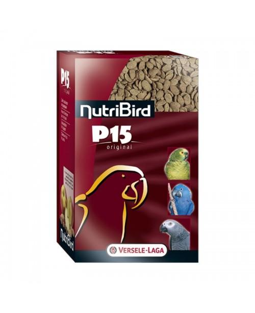 NUTRI BIRD P15 TROPICAL- ПЪЛНOЦЕННА ЕКСТРУДИРАНА ХРАНА ЗА ЕЖЕДНЕВНО ХРАНЕНЕ НА ГОЛЕМИ ПАПАГАЛИ