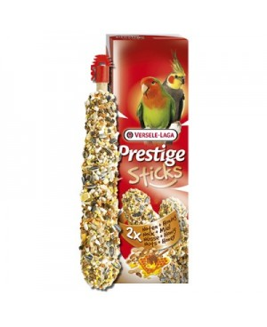 STICKS BIG PARAKEETS NUTS & HONEY 2 PIECES -СТИК ЗА СРЕДНИ ПАПАГАЛИ С ЯДКИ И МЕД -2БР.