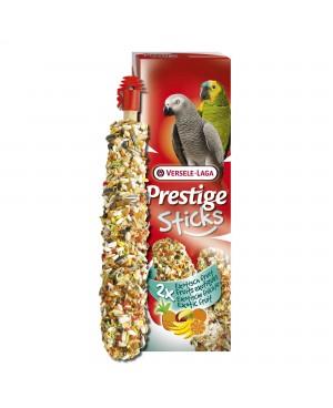 PRESTIGE STICKS PARROTS EXOTIC FRUIT -СТИК ЗА ГОЛЕМИ ПАПАГАЛИ С ЕКЗОТИЧНИ  ПЛОДОВЕ  - Птици