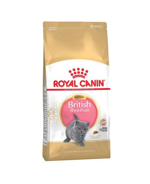 Суха храна за котки - Royal Canin British Shorthair Kitten 10кг.