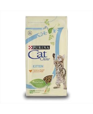 Суха храна за котки Cat Chow Kitten с пилешко - Суха храна