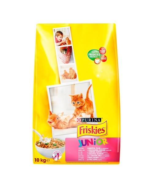 Суха храна за котки  Friskies Junior 10кг.