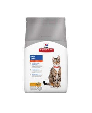 Суха храна за котки Hill's Feline Adult Oral Care - Суха храна