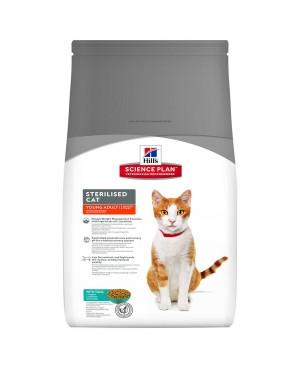 Суха храна за котки Hill´s Feline Sterilised Cat Young Adult с риба тон - Суха храна