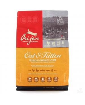 Суха храна за котки  Orijen Cat & Kitten